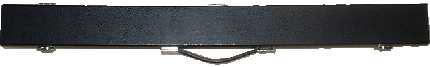 2 piece hard cue case